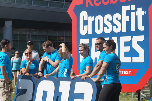 CrossFit Free Team at 2013 Northeast Regionals