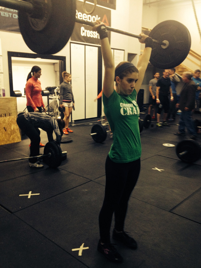 Katie Lohse at Crossfit Free Don McCauley clinic