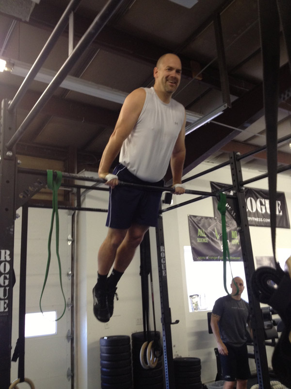 Ron Lohse at Crossfit 2A