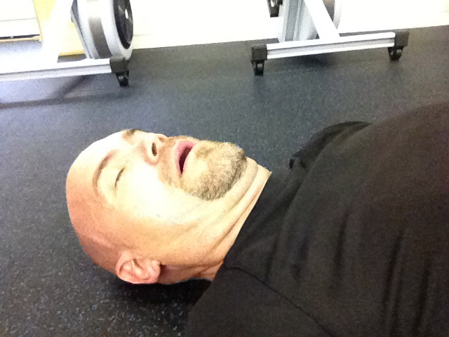 ron lohse crossfit recovery position