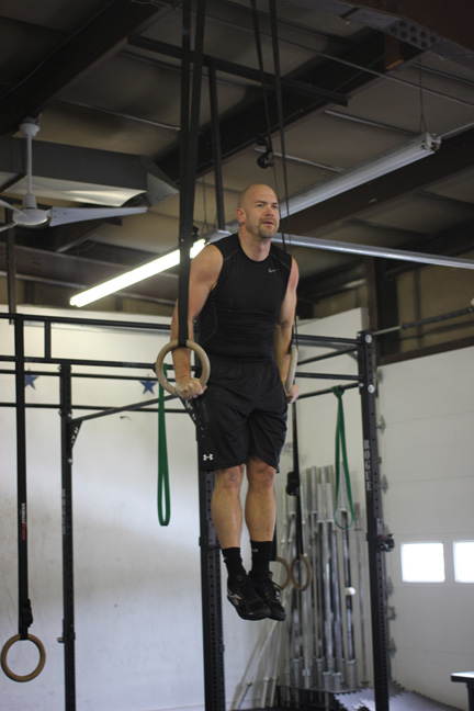 Ron Lohse first muscle up
